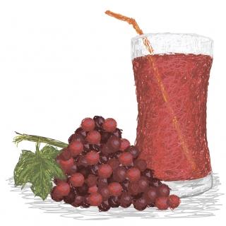 Смузи из винограда